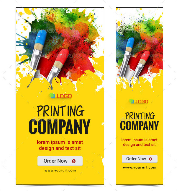 Printing Company Banners Design