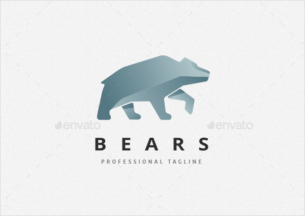 Professional Bears Logo Template