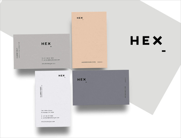 Professional Clean Business Cards Template