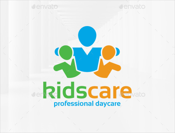 Professional Daycare Logo Template