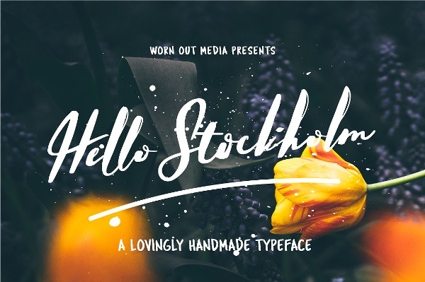 Professional Handmade Typeface Font