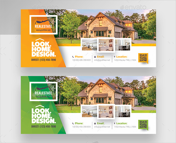 Professional Real Estate Billboard Templates