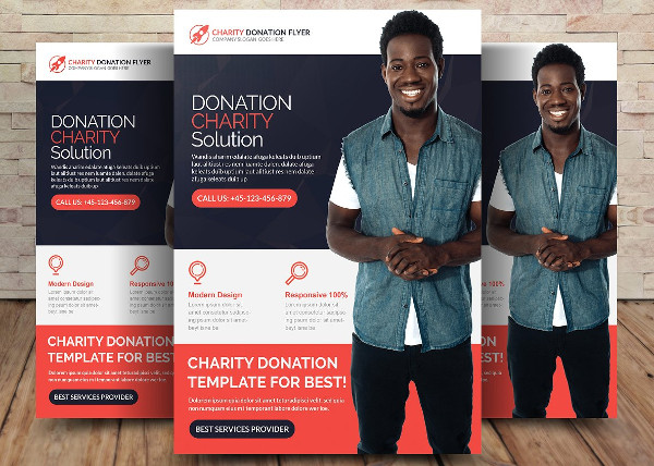 Popular Charity Donation Solution Flyer
