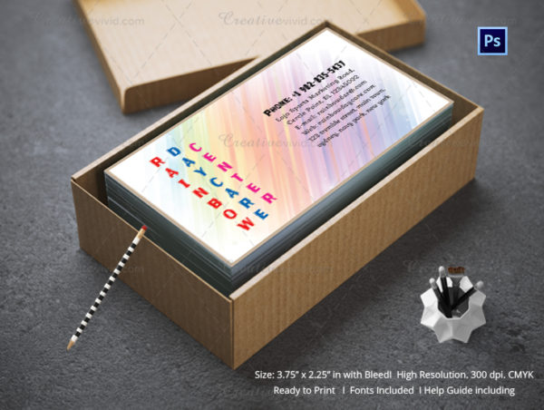 Education & Child Care Business Card
