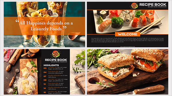 Recipe Book Presentation Template