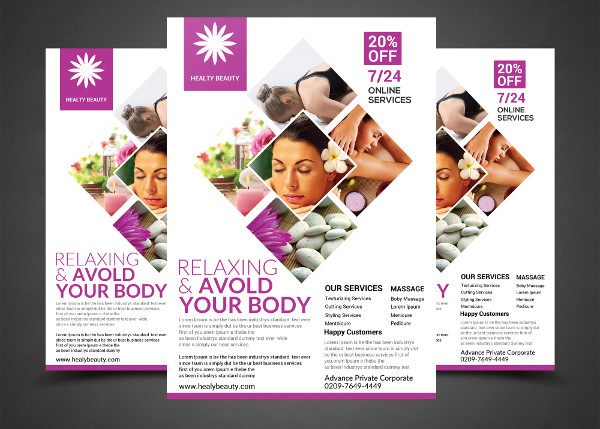 Relaxing Your Body Flyer Template