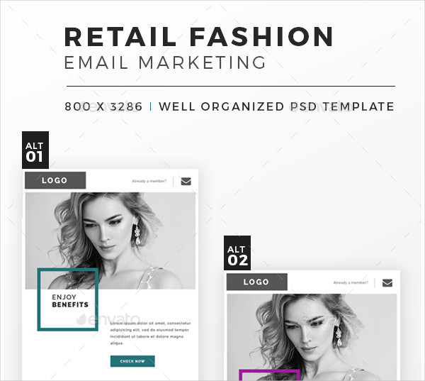 Retail Fashion Email Template
