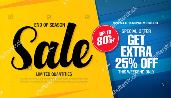 Special Sale Banner Template Design