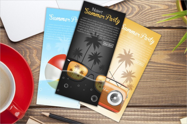 Cool Summer Party Banners