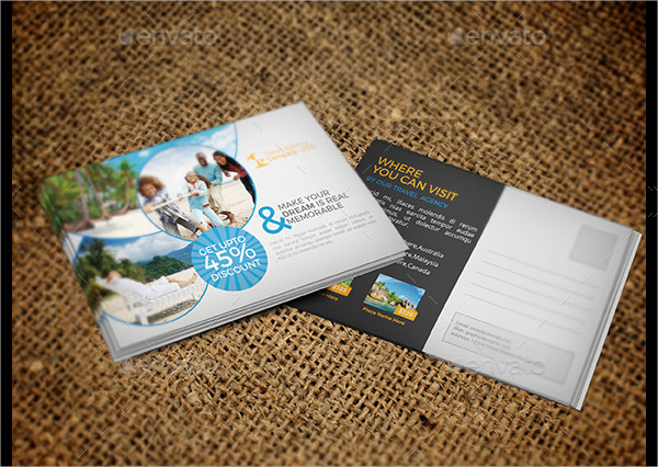 Travel Business Postcards Bundle