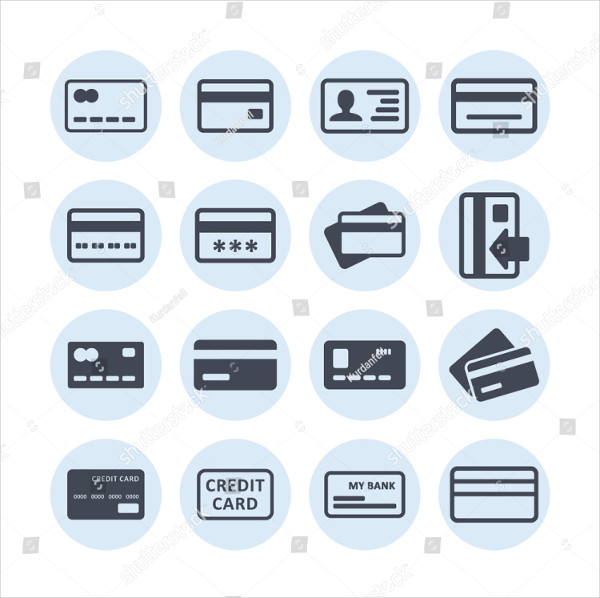 Vector Business Payment Icons