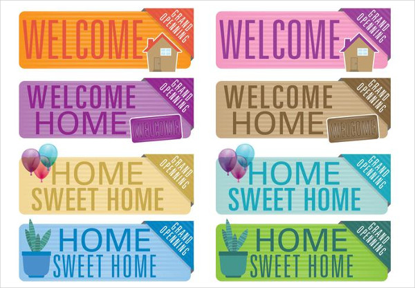 Free Download Welcome Home Banners