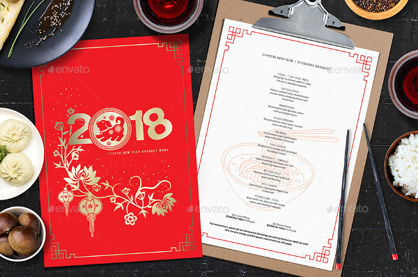 Best Chinese Menu Template
