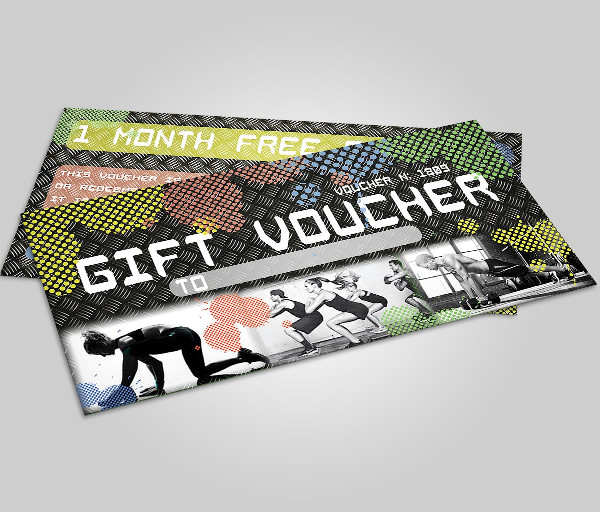 Best Fitness Voucher Template
