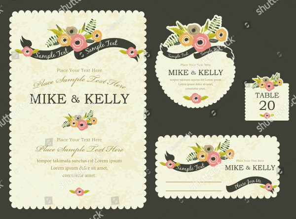Brimming with Blooms Creative Invitation Design