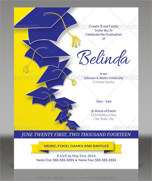 Best College Party Invitation Template
