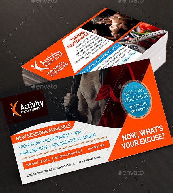 Fitness and Gym Discount Voucher
