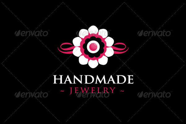Handmade Jewelry Logo Template