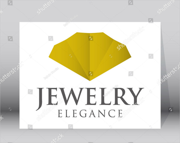 Luxury Jewelry Logo Template