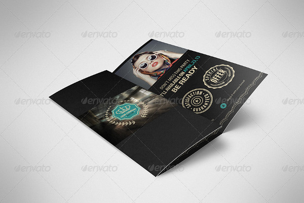 Luxury Retro Brochure Tri-Fold Brochure