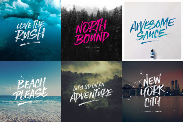Script Typography Font