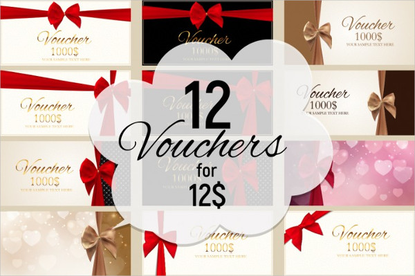 12 Gift Voucher Template Card For Your Business