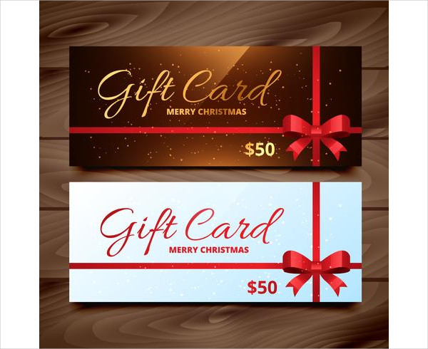 Free Download Two Seasonal Gift Card