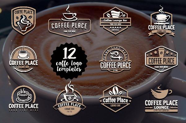 12 Coffee Logo Templates