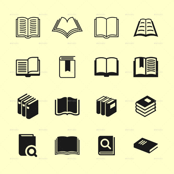 16 Library Icon Collection