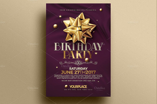 3 Creative Birthday Invitation Cards