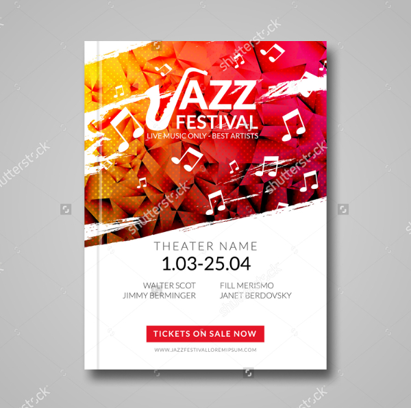 Abstract Musical Flyer Template