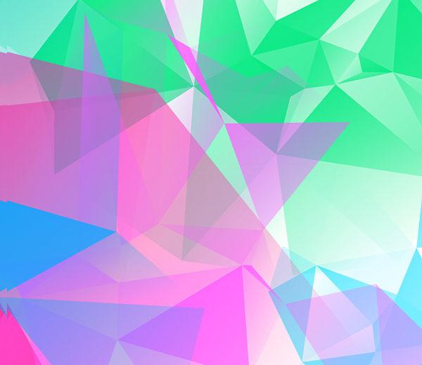 Polygonal or Geometrical Photoshop Brushes