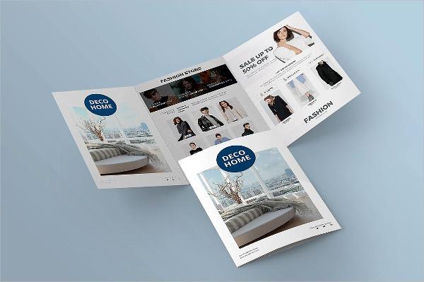 Brochure Advertising Mockup