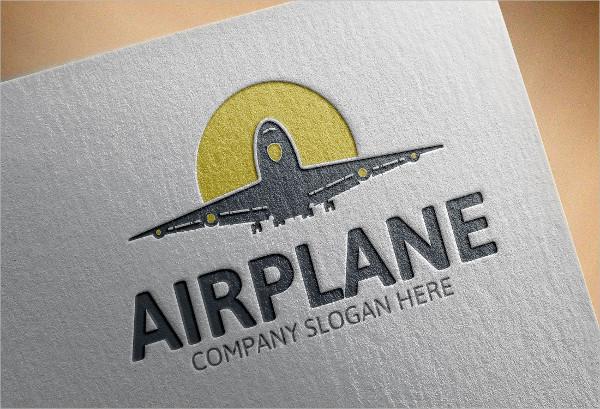 Best Airplane Logo Template