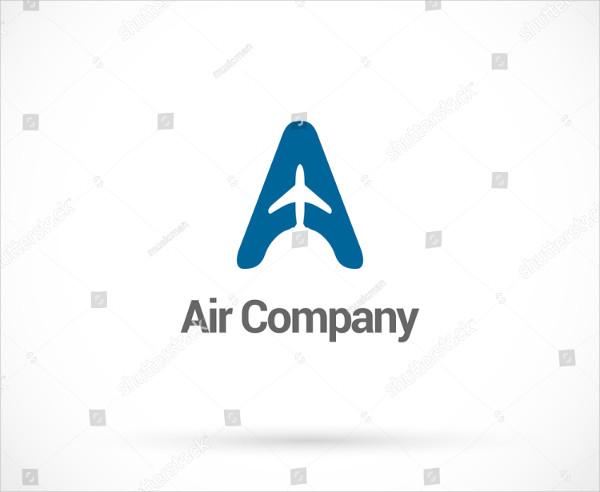 Air Company Logo Template Vector Design