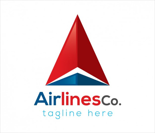 Airlines Company Logo Template Free