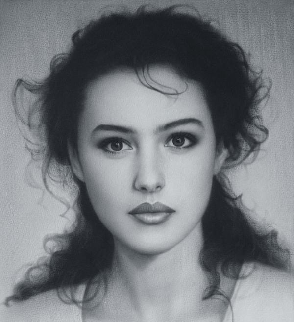 Amazing Drawing of a Beautiful Women