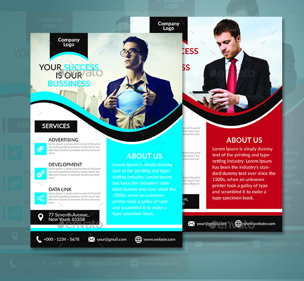 Business Branding Flyer Template