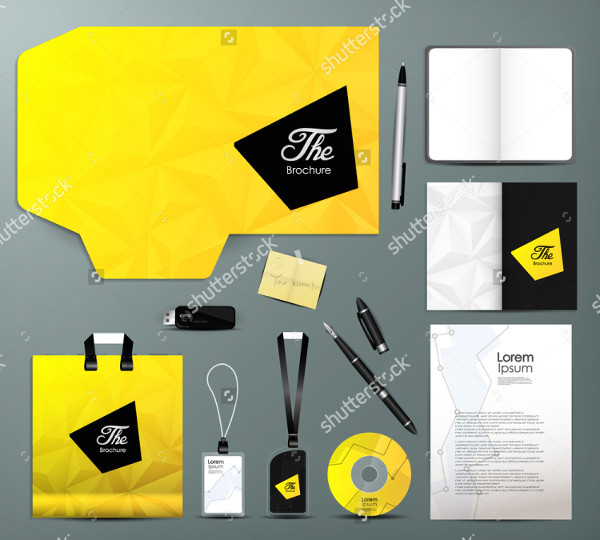 Business Geometric Stationery Design