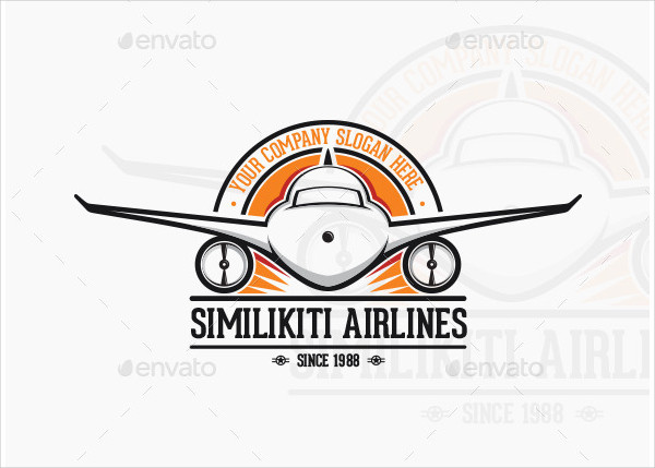 Attractive Airline Logo Template
