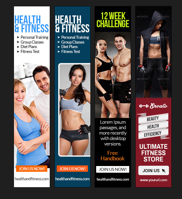 Health & Fitness Banner Bundle