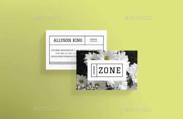 Beauty Zone Business Card Template