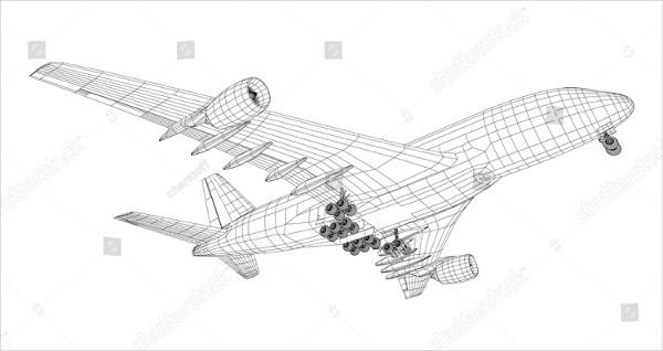 Best Airplane Drawings