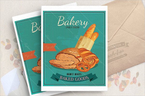 Best Bakery Poster Design Template
