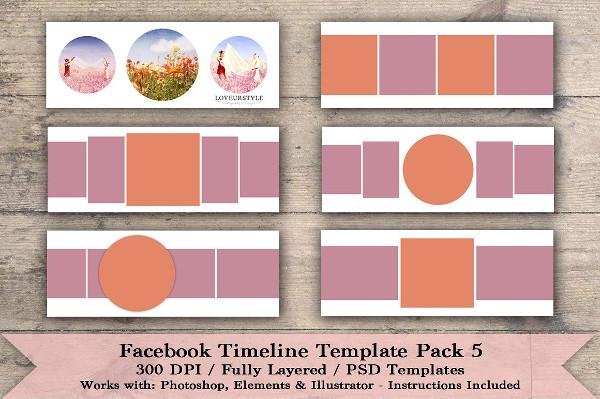 Best Facebook Timeline Template Pack