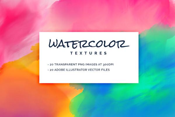 Best Watercolor Textures Pack