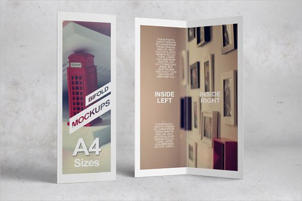 Perfect Bifold Brochure Mockups