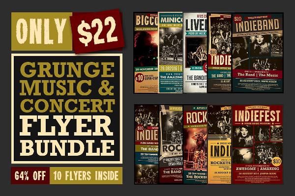 Big Music Flyers Bundle