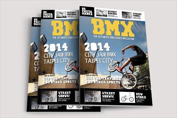 Bikes Sports Magazine Templates