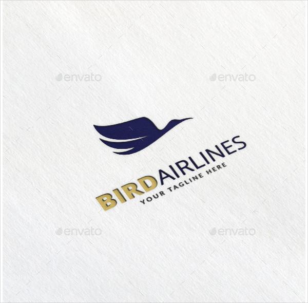 Bird Airlines Logo Template